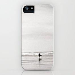Morning Surf, near Tofino, BC, Canada iPhone Case