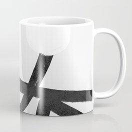 Lines brush movement minimal Coffee Mug