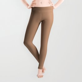 Mushroom Coffee (Dark) Leggings