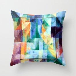 Robert Delaunay - Simultaneous Windows on the City Throw Pillow