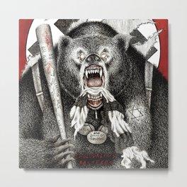 Inglourious Basterds (Quentin Tarantino) The Bear Jew Metal Print