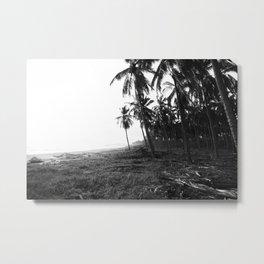 Tropical Palm Tree Escape Metal Print