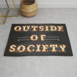 Outside of Society Rug