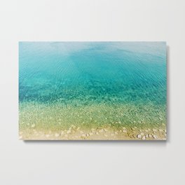 Mediterranean Sea, Italy, Photo Metal Print