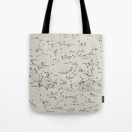 Carte du Ciel II Tote Bag