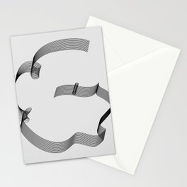 ''Dove Collection'' - Minimal Letter G Print Stationery Cards