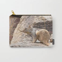Watercolor Round-tailed Ground Squirrel 01, Ventana Canyon, Arizona Carry-All Pouch