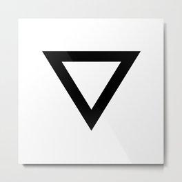 Triangle Metal Print