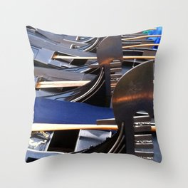 Gondolas, Venice Throw Pillow