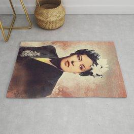 Billie Holiday, Music Legend Rug