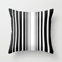 Striation Abstract C - Vertical Throw Pillow