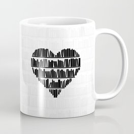 Book Lover II Coffee Mug