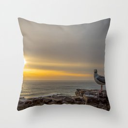 Just you, me and the Sunset Throw Pillow