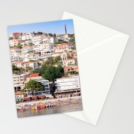 Small beach Ulcinj Stationery Cards