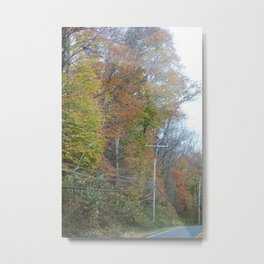 November on the Georgetown Pike Metal Print