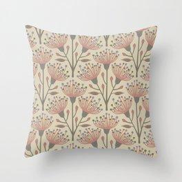 EUCALYPTUS in NATURALS Throw Pillow