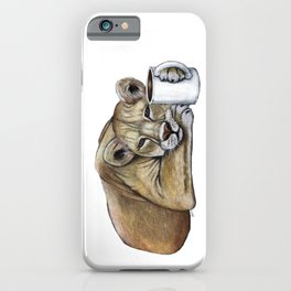 """""""Lazy Lioness"""" - Java Jungle collection iPhone Case"""