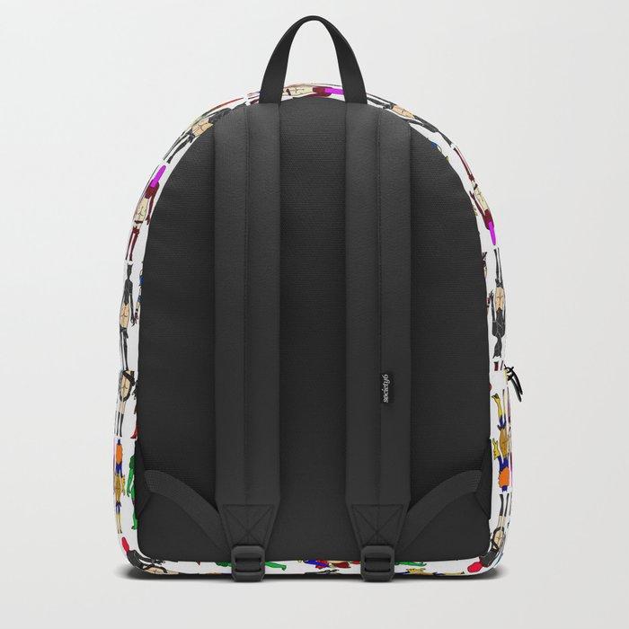 Superhero Butts - Girls - Row Version - Superheroine Backpack