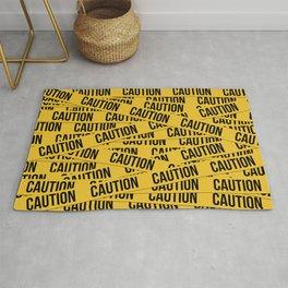 Caution Rug