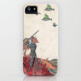 Ancient battle (collage) iPhone Case