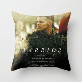 Warrior Watch Me - Ivar The Boneless Throw Pillow