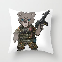 Germany Army Special Forces - Military Teddy Gift Ideas Throw Pillow