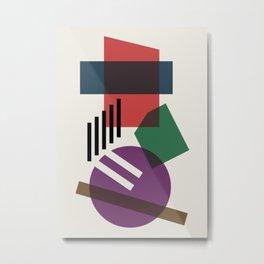Abstract No.3 Metal Print