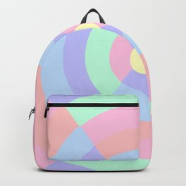 Pastel hourglass pattern Backpack