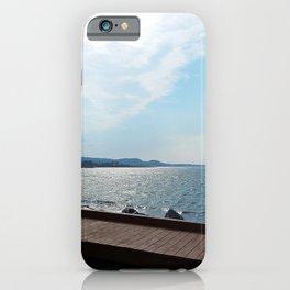 Coastal Shoreline and Boardwalk iPhone Case