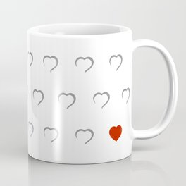 Hearts - Classic Red Coffee Mug