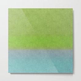 Green greenery greenish Metal Print