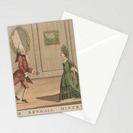 Darly Matthias PublisherThe Bengall minuet Stationery Cards