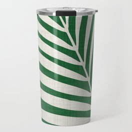 Minimalist Palm Leaf Travel Mug