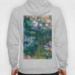 water lilies : Monet Hoodie