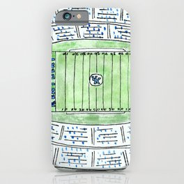UK, Kentucky Wildcats, Football, Stadium, Lexington iPhone Case