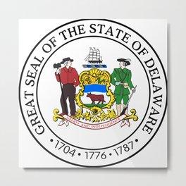 Delaware seal Metal Print