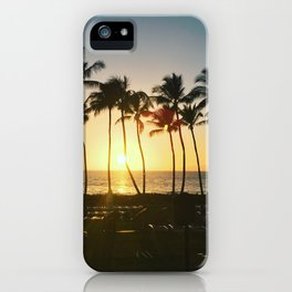 Hawaiian Sunset iPhone Case