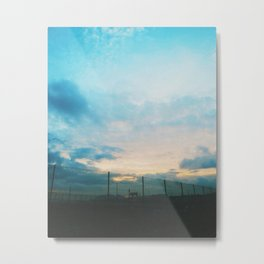 Tranquil summer night Metal Print