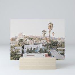 Hollywood California Mini Art Print
