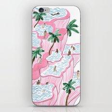 Pamukkale iPhone Skin
