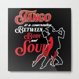Tango, Bachata, Music, Metal Print
