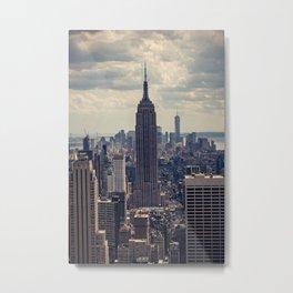 Empire State Building, New York City Metal Print