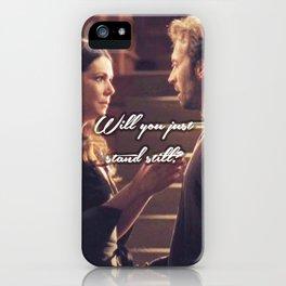 Luke and Lorelai - Stand Still iPhone Case