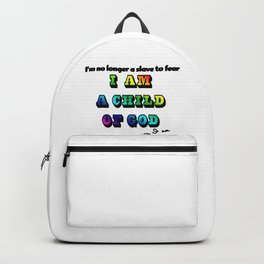 I am a Child of God-Style 2 Graphic Design Backpack