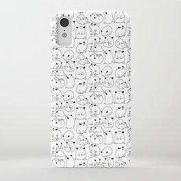 Hamster Blobs iPhone Case