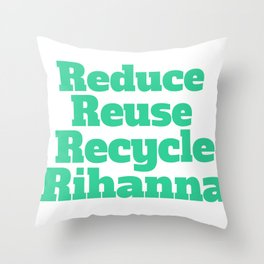 Broad City Recycle Throw Pillow