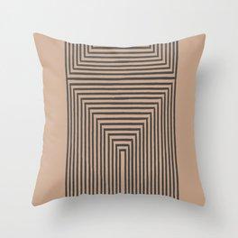 Geometric Art Throw Pillow