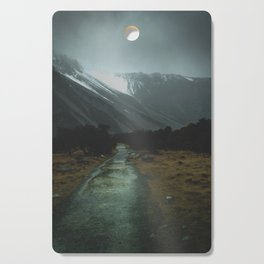 Hiking Around the Mountains & Valleys of New Zealand Cutting Board