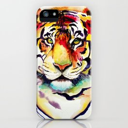 The Big Tiger iPhone Case