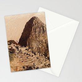 Machu Picchu Peru Stationery Cards